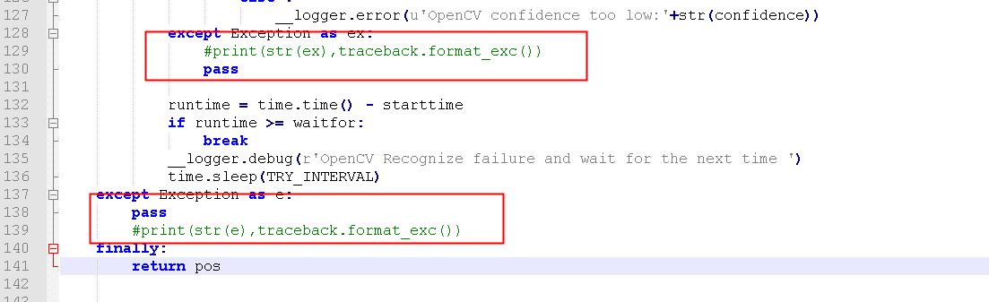 关于图片检测失败导致流程最后报运行失败问题