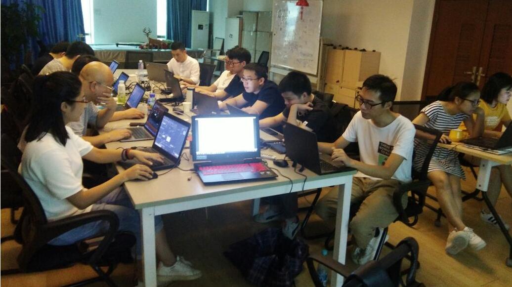 iS-RPA 技术认证培训 - 广州 20190613 班 - 培训开始