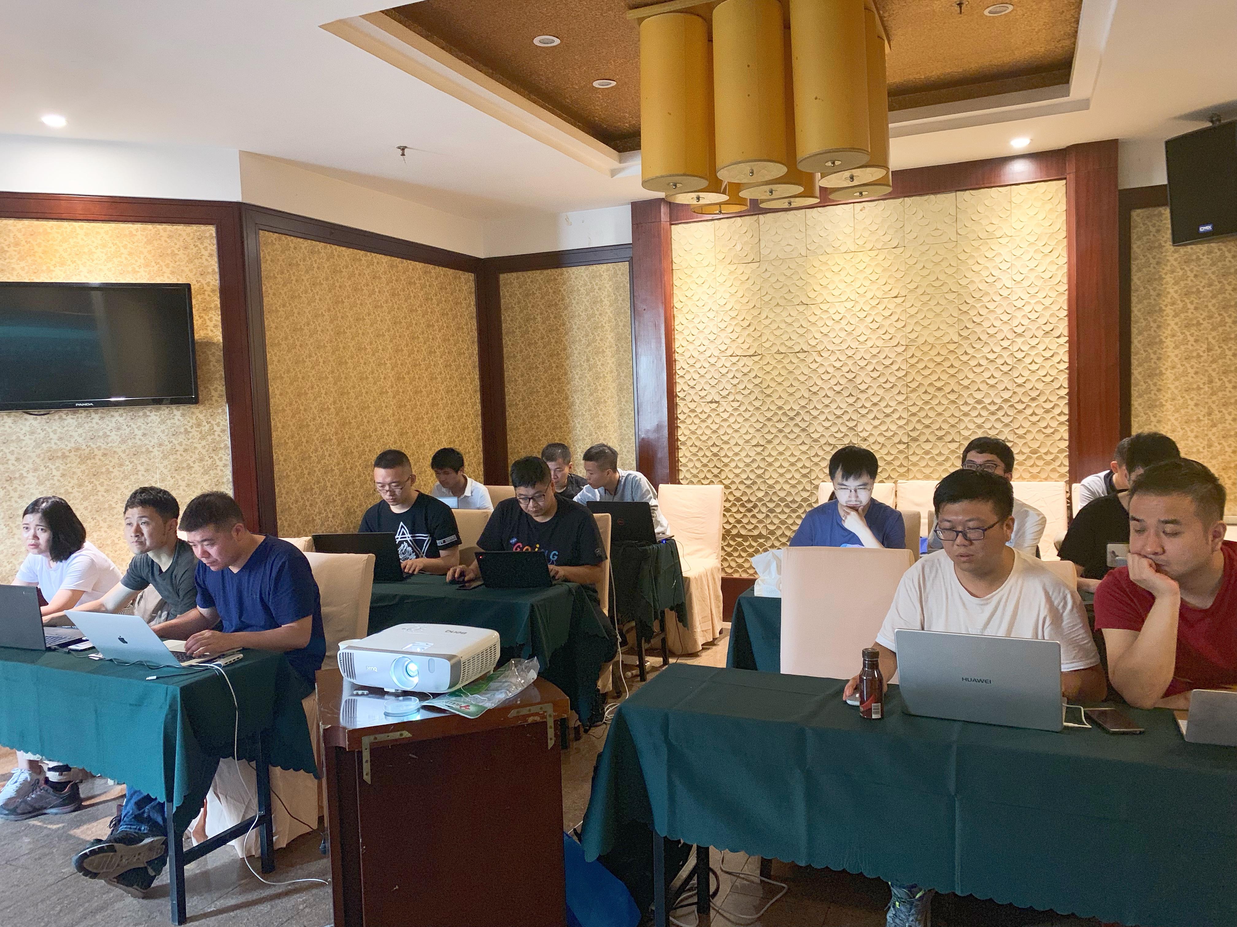 iS-RPA 高级设计师培训 - 南京 20190712 班 - 培训完成