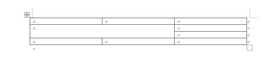 python-docx 设置 word 文档中表格格式