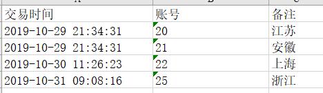表格中找出相同数据并修改