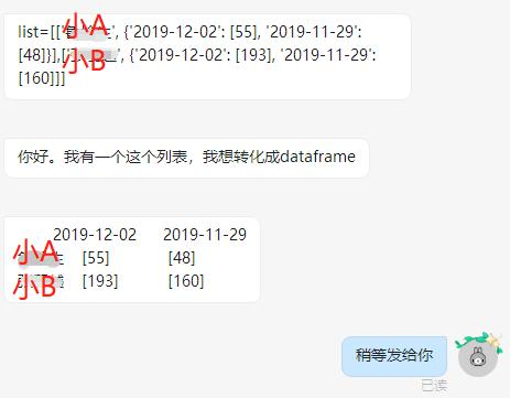 经验 | 嵌套 list 转 dataframe 格式