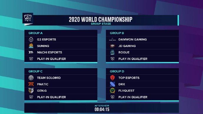 《英雄联盟》S10 总决赛赛程时间和抽签结果已公布