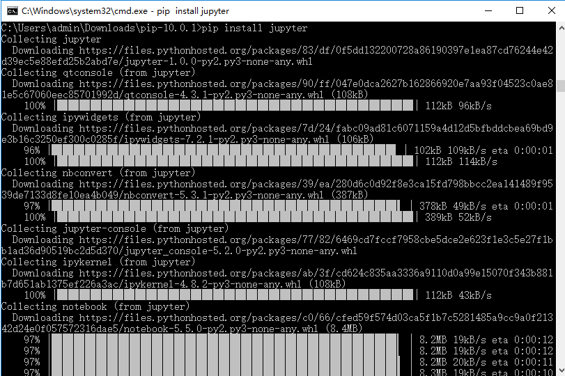Jupyter Notebook 快速上手,python 运行更直观
